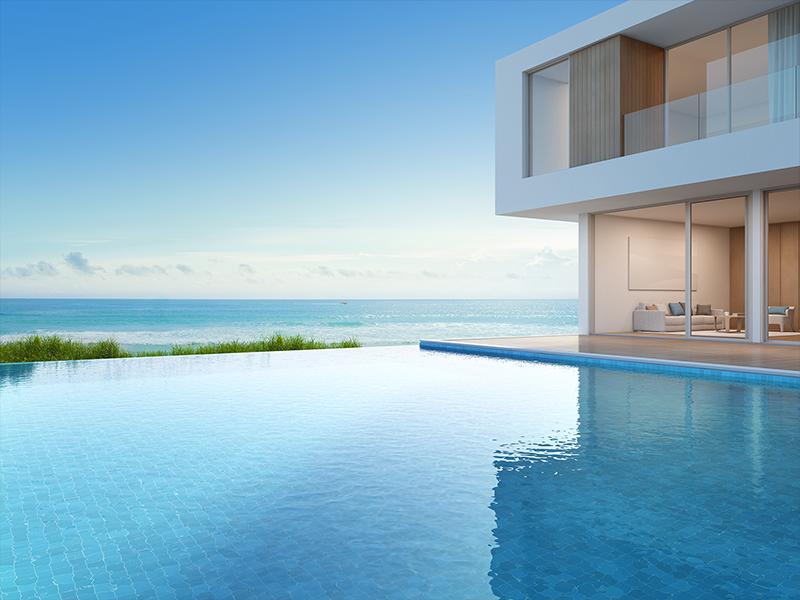 Mercado imobiliário de alto padrão